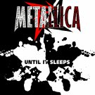 METALLICA Until it Sleeps BANNER Huge 4X4 Ft Fabric Poster Tapestry Flag Print album cover art