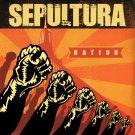 SEPULTURA Nation BANNER Huge 4X4 Ft Fabric Poster Tapestry Flag Print album cover art