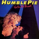 HUMBLE PIE Go For The Throat BANNER Huge 4X4 Ft Fabric Poster Tapestry Flag Print album cover art
