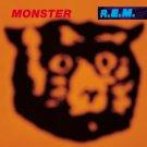 R.E.M. Monster BANNER Huge 4X4 Ft Fabric Poster Tapestry Flag Print album cover art