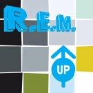 R.E.M. Up BANNER Huge 4X4 Ft Fabric Poster Tapestry Flag Print album cover art