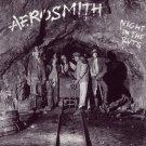 AEROSMITH Night In The Ruts BANNER Huge 4X4 Ft Fabric Poster Tapestry Flag Print album cover art
