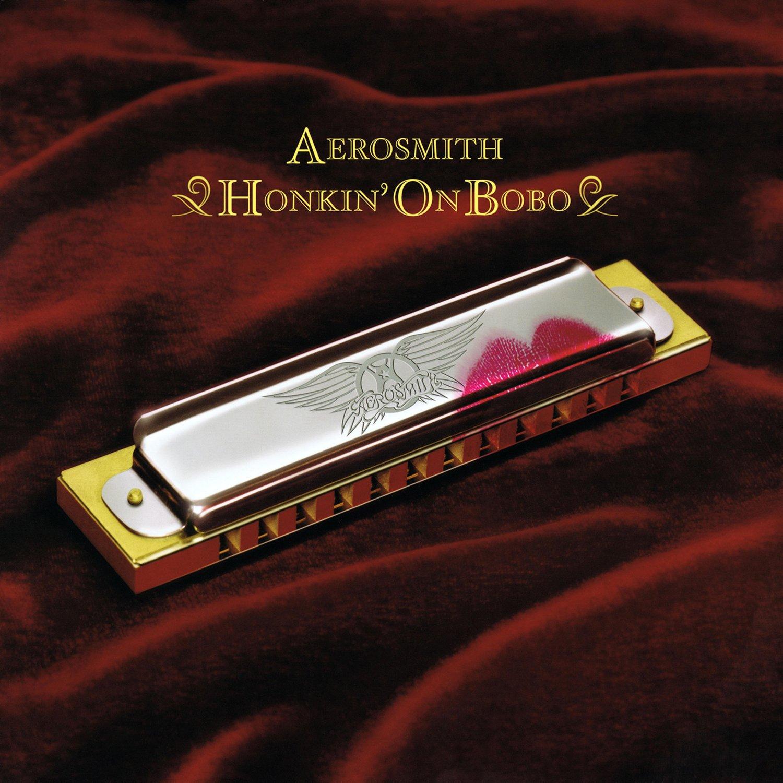 AEROSMITH Honkin' On Bobo BANNER Huge 4X4 Ft Fabric Poster Tapestry Flag Print album cover art