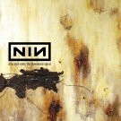 NINE INCH NAILS The Downward Spiral BANNER Huge 4X4 Ft Fabric Poster Tapestry Flag album cover art