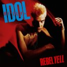 BILLY IDOL Rebel Yell BANNER Huge 4X4 Ft Fabric Poster Tapestry Flag Print album cover art