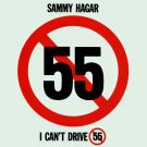 SAMMY HAGAR I Can't Drive 55 BANNER Huge 4X4 Ft Fabric Poster Tapestry Flag Print album cover art