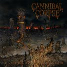 CANNIBAL CORPSE A Skeletal Domain BANNER Huge 4X4 Ft Fabric Poster Tapestry Flag album cover art