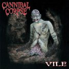 CANNIBAL CORPSE Vile BANNER Huge 4X4 Ft Fabric Poster Tapestry Flag Print album cover art