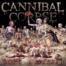 CANNIBAL CORPSE Gore Obsessed BANNER Huge 4X4 Ft Fabric Poster Tapestry Flag album cover art
