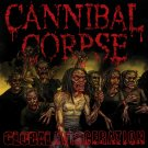 CANNIBAL CORPSE Global Evisceration BANNER Huge 4X4 Ft Fabric Poster Tapestry Flag album cover art