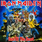 IRON MAIDEN Best of the Beast BANNER Huge 4X4 Ft Fabric Poster Tapestry Flag Print album cover art
