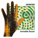 GENESIS Invisible Touch BANNER Huge 4X4 Ft Fabric Poster Tapestry Flag Print album cover art