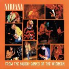 NIRVANA From the Muddy Banks of the Wishkah BANNER Huge 4X4 Ft Fabric Poster Flag album cover