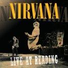 NIRVANA Live at Reading BANNER Huge 4X4 Ft Fabric Poster Tapestry Flag Print album cover art