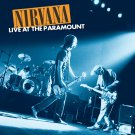NIRVANA Live at the Paramount BANNER Huge 4X4 Ft Fabric Poster Tapestry Flag Print album cover art