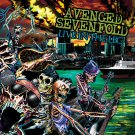 AVENGED SEVENFOLD Live in the LBC BANNER Huge 4X4 Ft Fabric Poster Tapestry Flag Print album cover