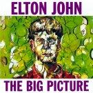 ELTON JOHN The Big Picture BANNER Huge 4X4 Ft Fabric Poster Tapestry Flag Print album cover art