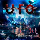 UFO A Conspiracy of Stars BANNER Huge 4X4 Ft Fabric Poster Tapestry Flag Print album cover art