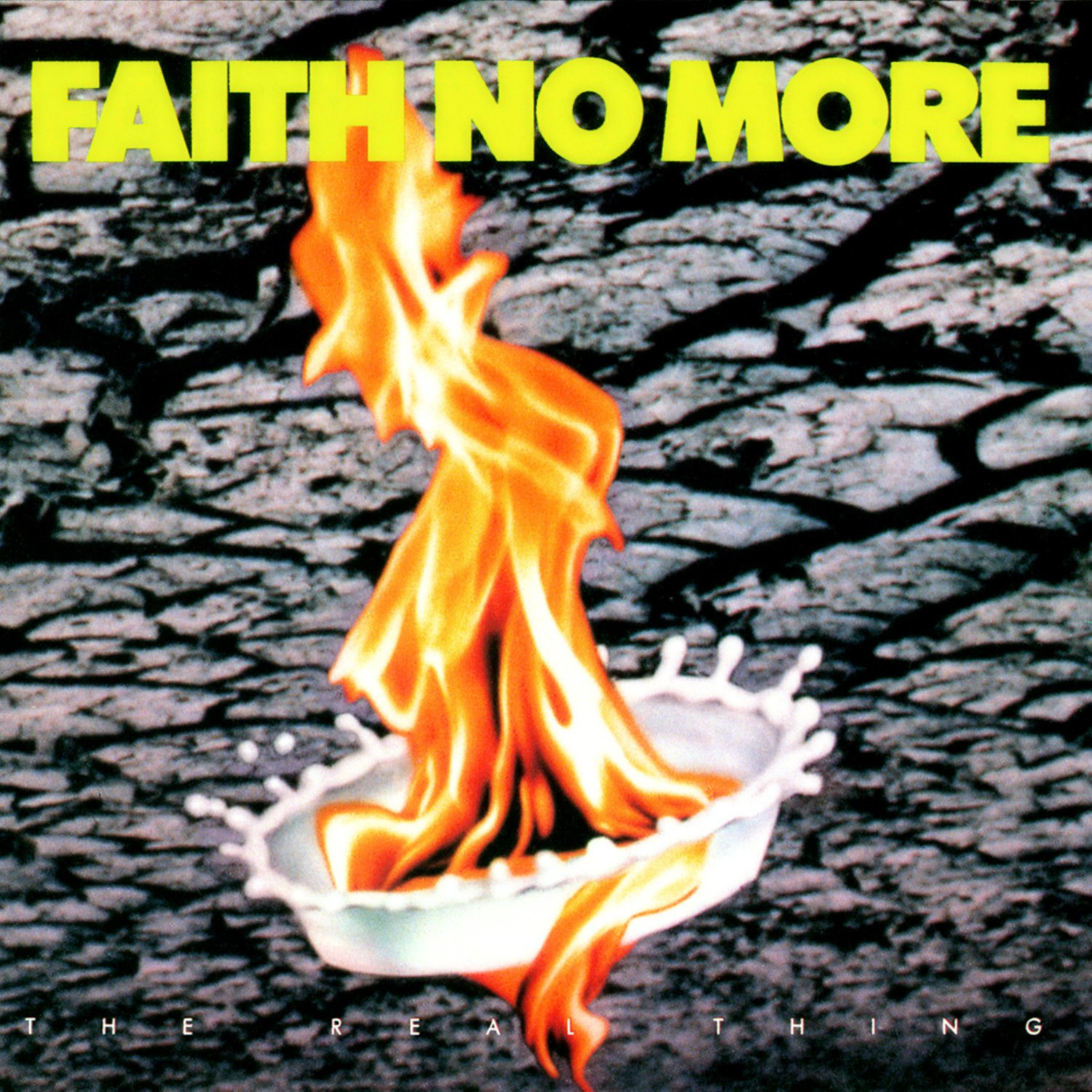 FAITH NO MORE The Real Thing BANNER Huge 4X4 Ft Fabric Poster Tapestry Flag Print album cover art