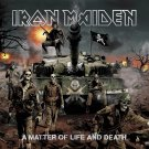 IRON MAIDEN A Matter of Life and Death BANNER Huge 4X4 Ft Fabric Poster Tapestry Flag album cover