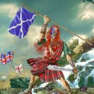 IRON MAIDEN The Clansman BANNER Huge 4X4 Ft Fabric Poster Tapestry Flag Print album cover art