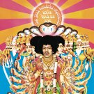 JIMI HENDRIX Axis: Bold as Love BANNER Huge 4X4 Ft Fabric Poster Tapestry Flag album cover art