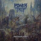 POWER TRIP Nightmare Logic BANNER Huge 4X4 Ft Fabric Poster Tapestry Flag Print album cover art