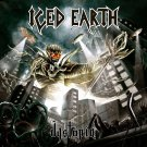 ICED EARTH Dystopia BANNER Huge 4X4 Ft Fabric Poster Tapestry Flag Print album cover art