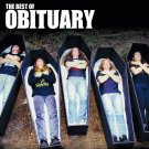 OBITUARY The Best of Obituary BANNER Huge 4X4 Ft Fabric Poster Tapestry Flag Print album cover art