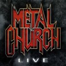 METAL CHURCH Live  BANNER Huge 4X4 Ft Fabric Poster Tapestry Flag Print album cover art