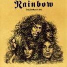 RAINBOW Long Live Rock n Roll BANNER Huge 4X4 Ft Fabric Poster Tapestry Flag Print album cover art