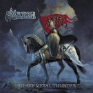 SAXON Heavy Metal Thunder BANNER Huge 4X4 Ft Fabric Poster Tapestry Flag Print album cover art