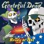 GRATEFUL DEAD Ready or Not BANNER Huge 4X4 Ft Fabric Poster Tapestry Flag Print album cover art