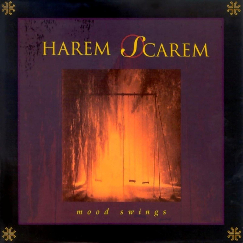 HAREM SCAREM Mood Swings BANNER Huge 4X4 Ft Fabric Poster Tapestry Flag Print album cover art