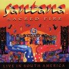 SANTANA Sacred Fire BANNER HUGE 4X4 Ft Fabric Poster Tapestry Flag cover art