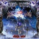 ICED EARTH Horror Show BANNER Huge 4X4 Ft Fabric Poster Tapestry Flag Print album cover art