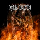 ICED EARTH Incorruptible BANNER Huge 4X4 Ft Fabric Poster Tapestry Flag Print album cover art