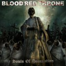 BLOOD RED THRONE Souls of Damnation BANNER Huge 4X4 Ft Fabric Poster Tapestry Flag album cover art