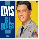 ELVIS PRESLEY G.I. Blues BANNER Huge 4X4 Ft Fabric Poster Tapestry Flag Print album cover art