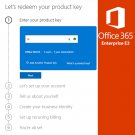Office 365 Enterprise E3 - 1 Year - 5 Users - Global Licence Key