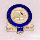 Bureau of Sport Fisheries and Wildlife 30 year Safety Award tie pin gold US Fish & Wildlife Service