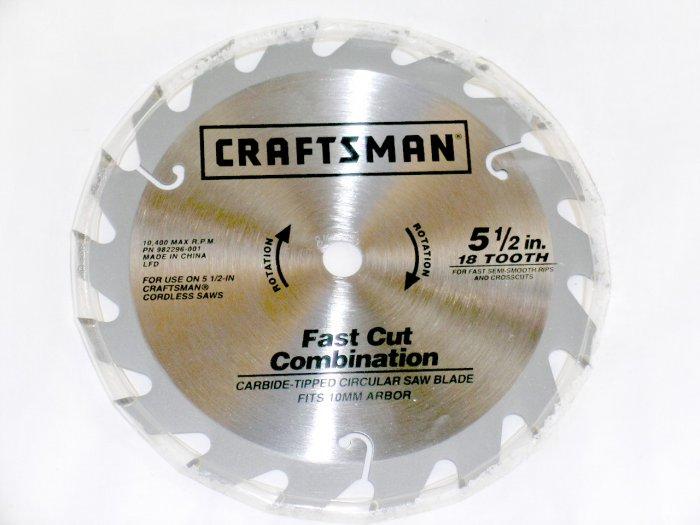 "NEW! 5.5"" blade for Craftsman SEARS 19.2 Volt trim saw circular saw. EX Diehard and C-3 battery"