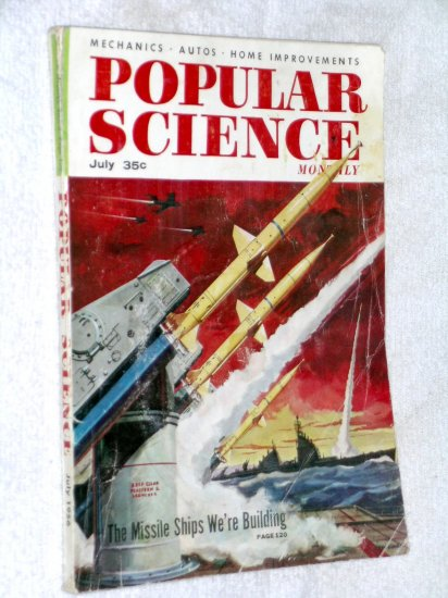 Popular Science Jul 56 Uranium mining submarine elevators