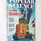 Popular Science Feb 60 Greenland Ice city Hibernation
