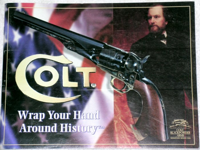 Colt Blackpowder Arms 1999 catalog Custer Dragoon 1860