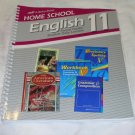 Homeschool Abeka Home School English 11 Parent Guide/ Student Daily Lesson 2004 edition # 94536002