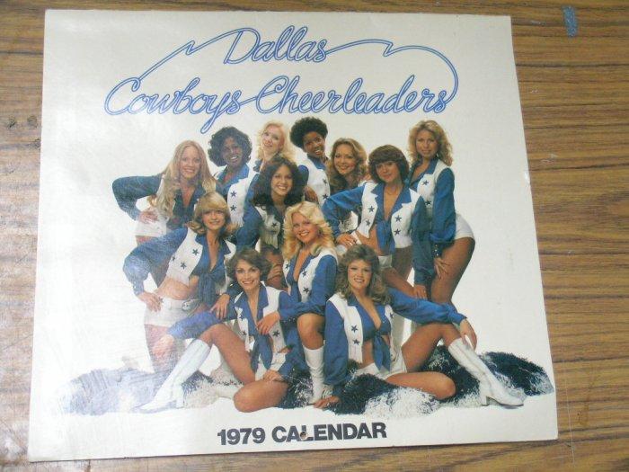 Dallas Cowboys Cheerleaders 1979 calendar Texas America's Team NFL Football