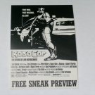 Robocop Film movie Hollywood Orion Pictures Free Sneak Preview Texas A&M Rudder Auditorium