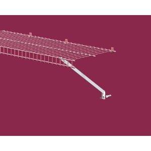 ClosetMaid 12-Inch Shelf Support Brackets, White, 12-Pack #1775
