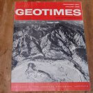 GEOTIMES 1964 December Vol.9, No.5 American Geological Institute Journal Magazine